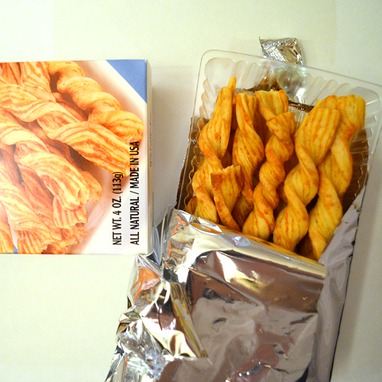 John Wm. Macy's Melting Parmesan CheeseSticks.