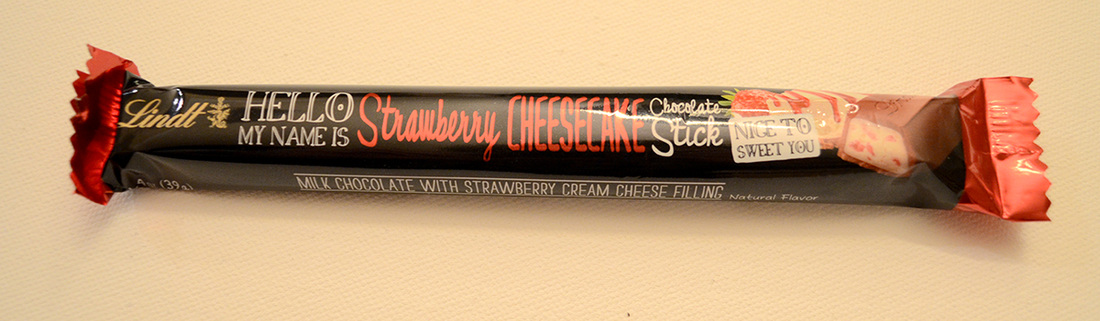Lindt Hello Stawberry Cheesecake Stick