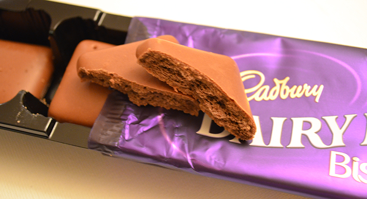 Cadbury Dairy Milk Biscuit Review