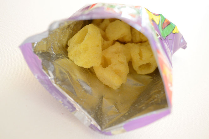 Monster Munch Pickled Onion Close Up