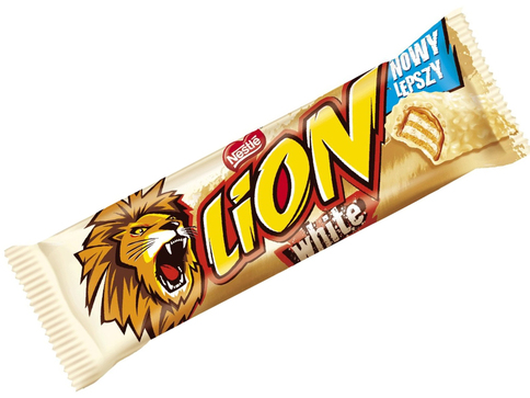Nestle Lion White Chocolate Bar