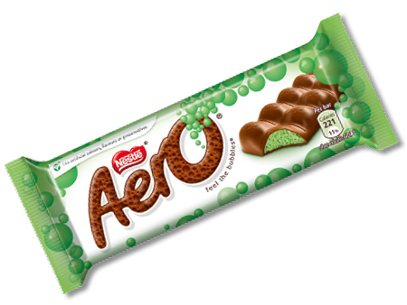 Nestle Aero Mint Chocolate Bar