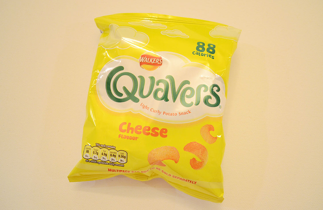 Walkers Quavers Cheese Flavor
