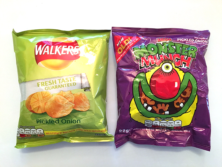 Walkers vs Mega Monster Munch