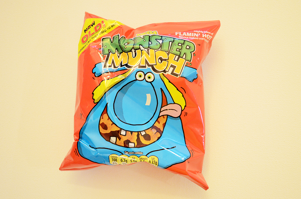 Mega Monster Munch Flamin Hot Crisps