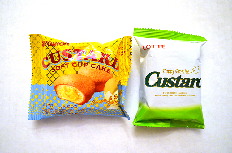 Korean Custard Cakes