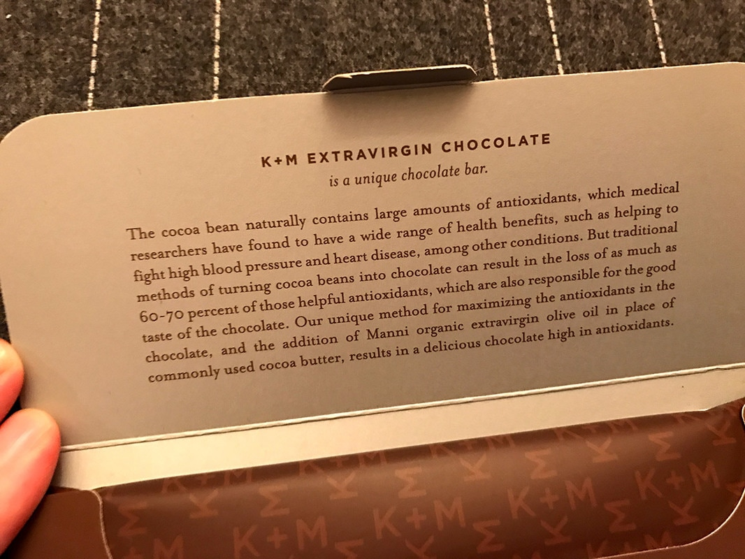 High-End Chocolate Bar