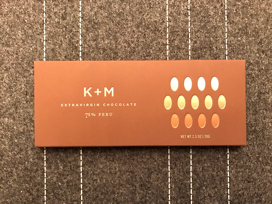 K+M Extravirgin Chocolate bar