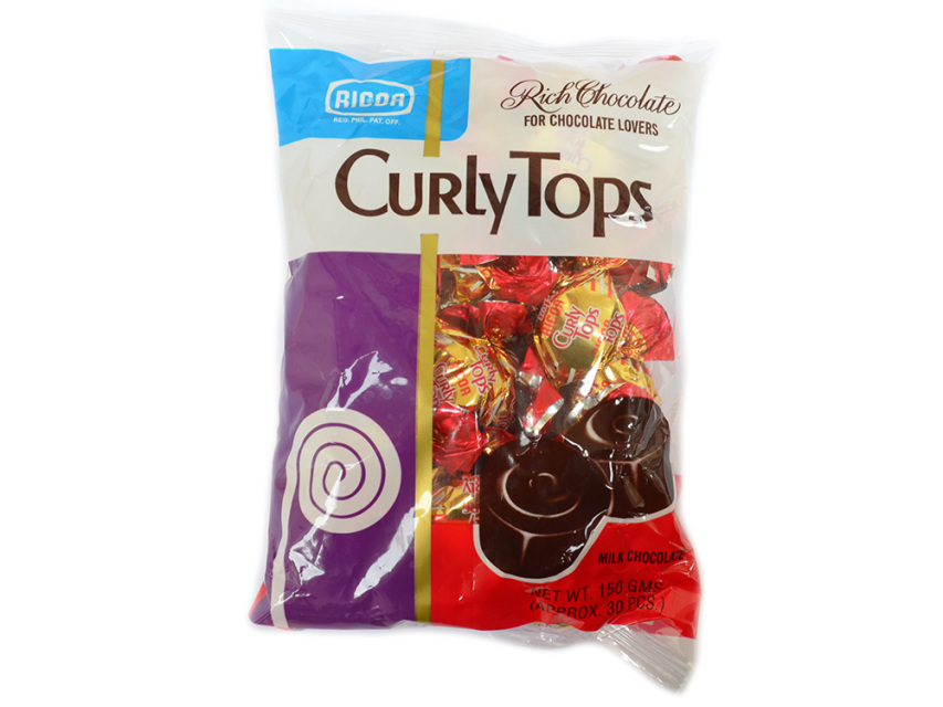 Chocolate Curly Tops