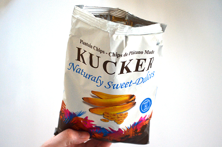 Kucker Naturally Sweet Plantain Chips