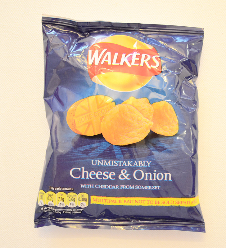 Cheese & Onion Crisps by Walkers