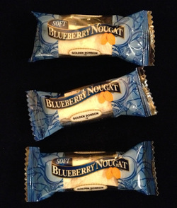 Golden Bonbon Blueberry Nougat