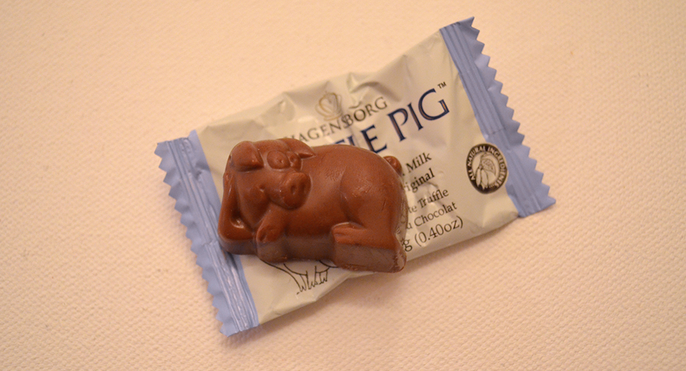 Canadian Chocolate Pig
