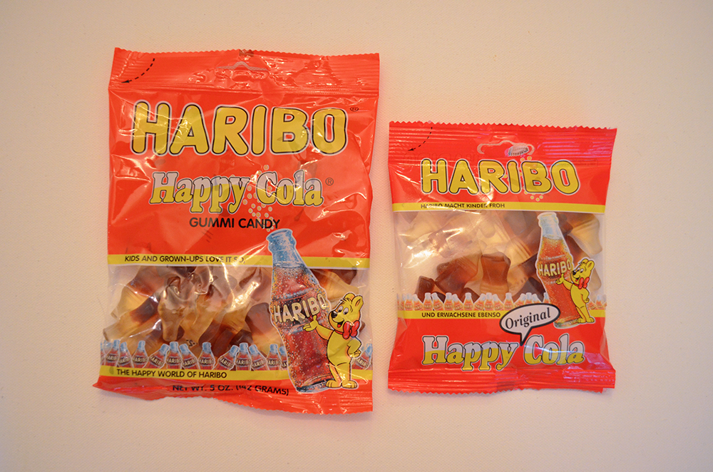 Haribo Happy Cola - American vs German
