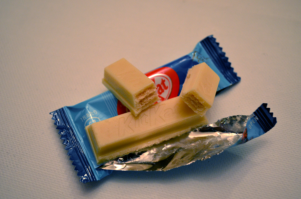 Japanese Rum Raisin Kit Kats