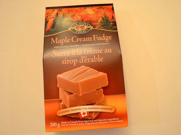 Canadian Maple Cream Fudge