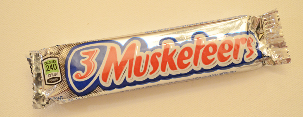 P3 Musketeers Candy Bar