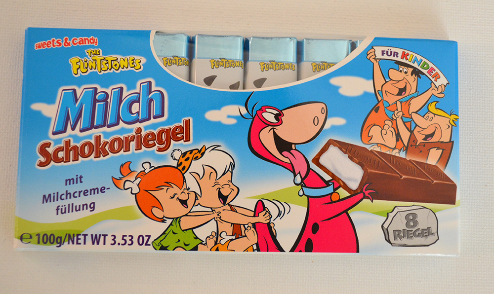 The Flintstones Milk Chocolate Bar