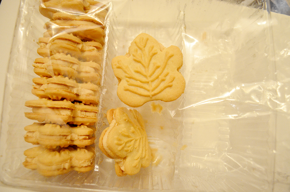 Canadian Maple Syrup Cream Cookies