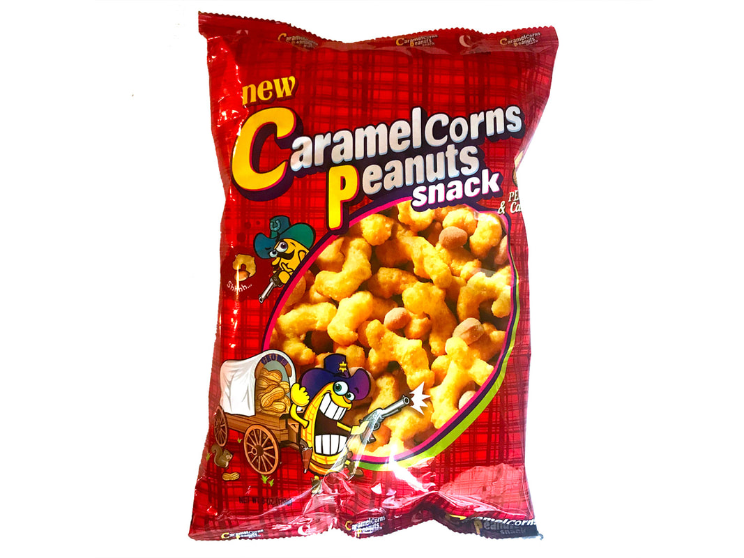 Crown CaramelCorns Peanut Snack