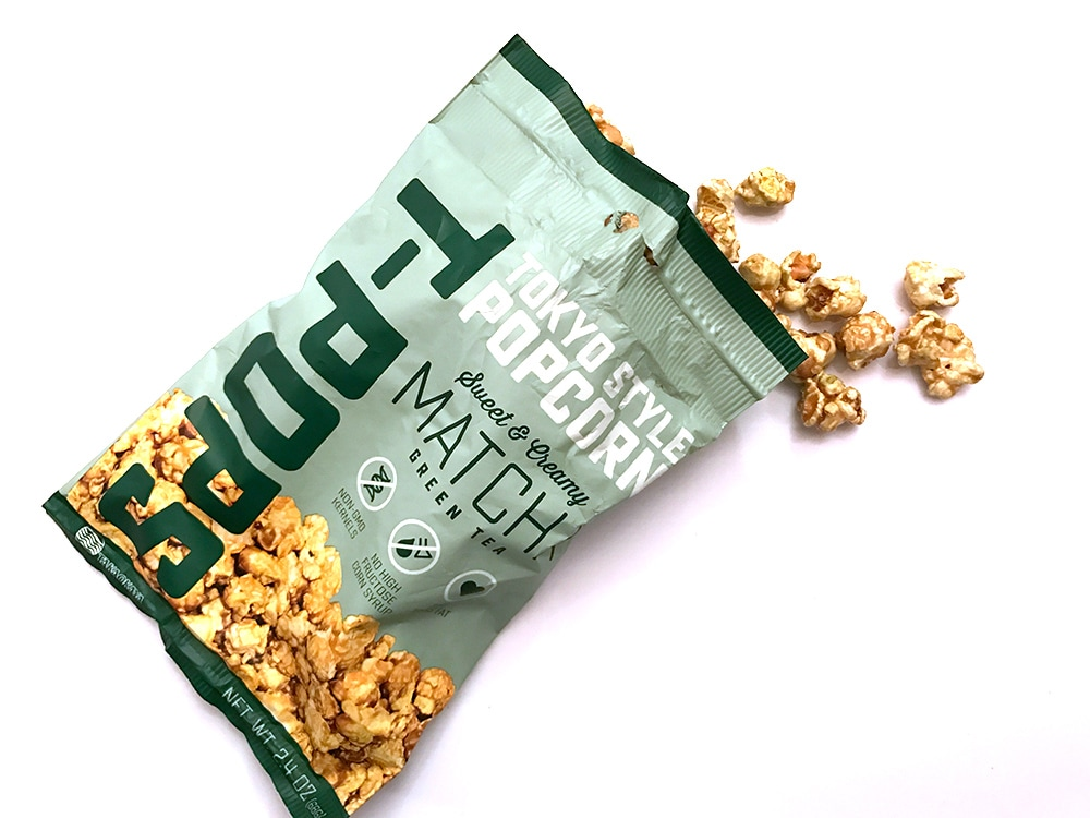 T-Pops Matcha Green Tea Popcorn