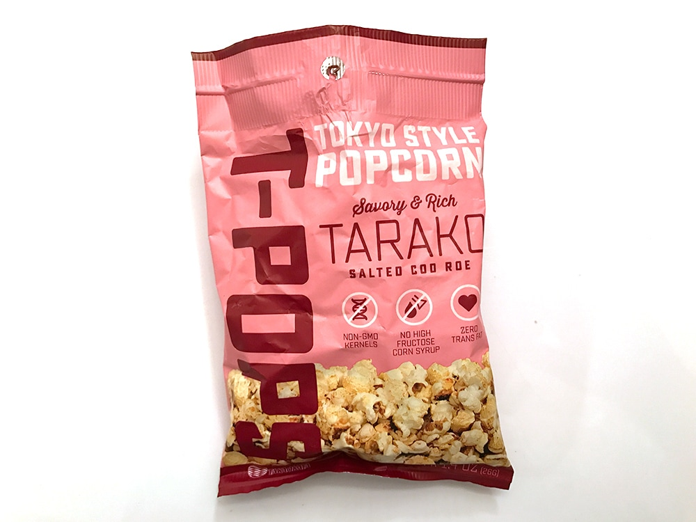 T-Pops Salted Cod Roe Popcorn